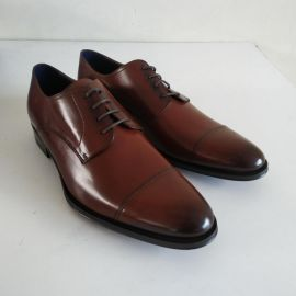 EU41 UK7 US8 SUITSUPPLY FW12112103 Leather Lace Brown Regular Fit Formal Shoes