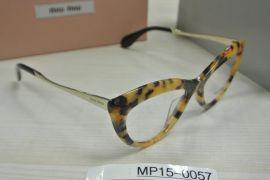 MIU MIU VMU01M PC8-1O1 52.17 140 Eyeglasses Women Cat Eye Optical Frame