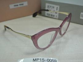 MIU MIU VMU01M PC9-1O1 52.17 140 Eyeglasses Women Cat Eye Optical Frame