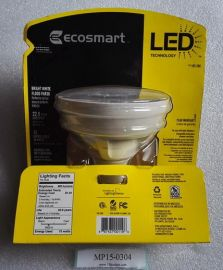 120V ECOSMART 185386 185-386 Bright White Flood PAR38 Led Bulb (900lumens 3000K 15=90W)