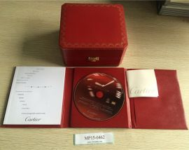 CARTIER empty Watch box New with User BOOK and CD
