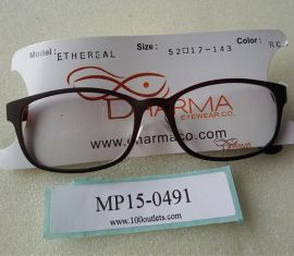 DHARMA EYEWEAR Ethereal ROADSIDE COFFEE 52 17-143