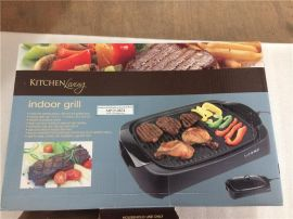 Aldi Kitchen Living Indoor Grill 16*12 inch cooking surface with grill and griddle area