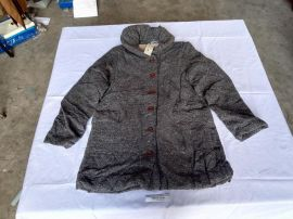 Cloudnine cotton quilted jacket coat Gray M-L