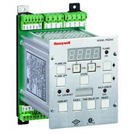 Honeywell IRIS Model P522AC Signal Processor for Flame Scanning Monitoring system