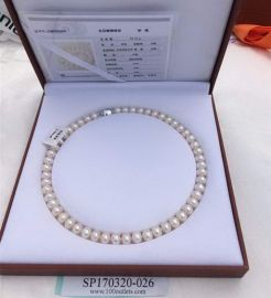 Jewelry China 54g Pearl necklace white w/test report