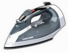 Black & Decker ICR05X Cord-Reel Steam Iron Grey/White  1200W 120V