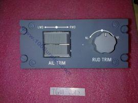 Aileron/ Rudder Trim Control Panel Test parts