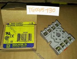 Relay Socket PLUG-IN RELAY SOCKET 8501NR51B by SQUARE D SCHNEIDER ELECTRIC