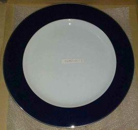 BERNARDAUD PHOEBE Opaline Navy Ass. Plate 29,50 Cm