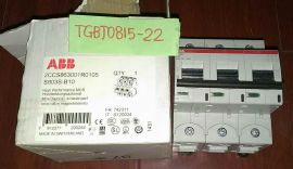 ABB S803S-B10 High Performance Circuit Breaker 10A 50KA 2CCS863001R0105