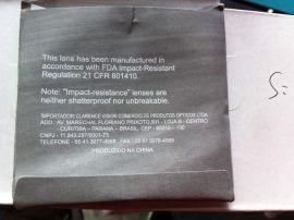 Optimo NK55-1.56 S:+3.50 C:-0.50 AR-Coated single vision lens