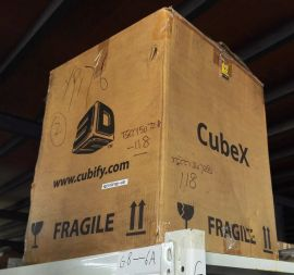 3DSYSTEMS 3D Printer Cubify CubeX Trio new box opened