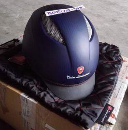 Lamborghini CFC113840003XS CAP C1 Carbon matted Blue Helmet New