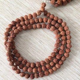 108pcs Nepal Rudraksha Bodhi Beads Bracelet 6mm bead