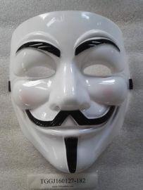 10pcs V For Vendetta Mask Guy Fawkes Anonymous Halloween Masks Fancy Dress Costume