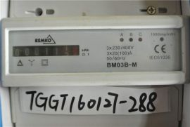 BEMKO BM03B-M ELECTRICITY METER 3 PHASE 20(100)A MECHANICAL