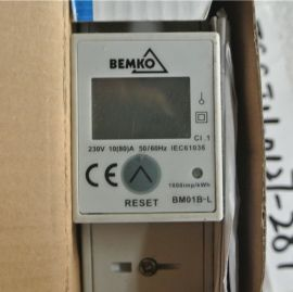 BEMKO BM01B-L ELECTRICITY METER 1 PHASE 5(80)A