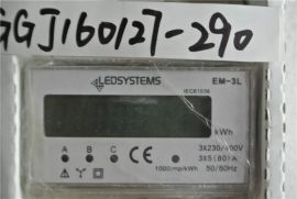 LEDSYSTEMS EM-3L Counter POWER 3-phase 5(80)A