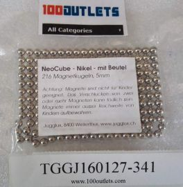 216pcs Magnetkugeln Jugglux NeoCube nikel 5mm