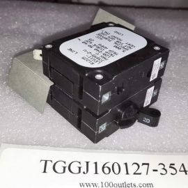 16pcs Sensata Airpax LEG11-33895-2-V 1-Pole 25Amps Circuit Breaker
