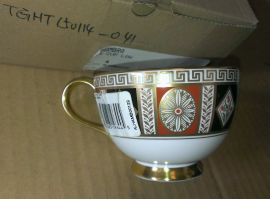 Minton ALHAMBRA TEA CUP LOW NEW Fine Bone China