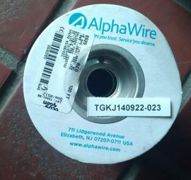 Alphawire 6825 RD005-ND HOOK UP WIRE 18AWG RED 100FT