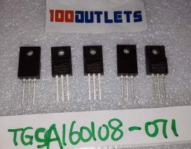 1000 pcs MagnaChip MDFS4N60D MDFS4N60DTH DIP TO-220F $0.1/pc
