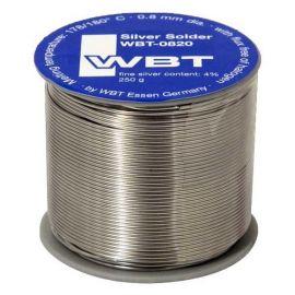 WBT WBT-0820 0.8mm 4%Ag 250g silver solder Hi-Fi Audio