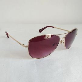 COACH 9139/8H Sunglasses Gold/Gamet 59/13-135 Avaitors