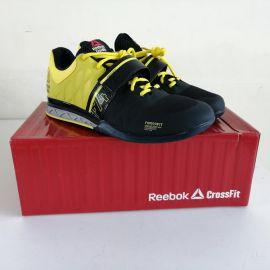 EU44.5 US11 UK10 Reebok Crossfit Lifter 2.0 M45395 Weightlifting Shoes Navy Yellow