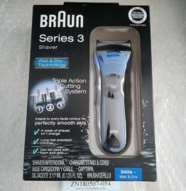 BRAUN Series 3 340s-4 Shaver Triple Action Cutting System