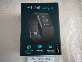 FitBit Surge FB501BKL Fitness Superwatch, Black, Large (US Version) Activity Tracker