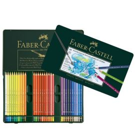 Faber-Castell Albrecht Durer Watercolor Pencil Tin Set of 60 Colors 117560