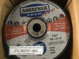 10pcs ASKAYNAK A24Q-BF Grinding Wheel 180x6x22.2MM