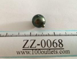 Tahiti Cultured Black Pearl Grade B size 11.07mm Ref. CERDEE