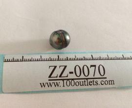 Tahiti Cultured Black Pearl Grade B size 11.56mm Ref. CERDEE