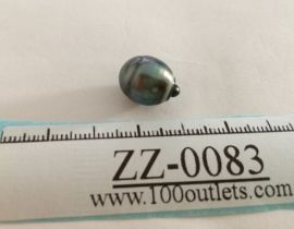 Tahiti Cultured Black Pearl Grade B size 11.17mm Ref. CERDEE