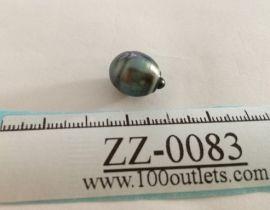 Tahiti Cultured Black Pearl Grade B size 11.17mm Ref. CERDEE