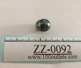Tahiti Cultured Black Pearl Grade B size 11.32mm Ref. CERDEE