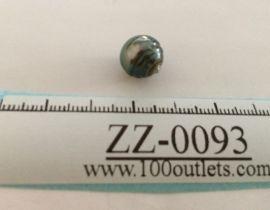Tahiti Cultured Black Pearl Grade B size 10.46mm Ref. CERDEE