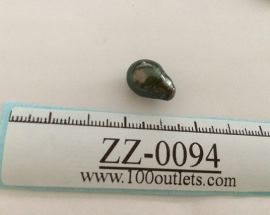 Tahiti Cultured Black Pearl Grade B size 10.32mm Ref. CERDEE