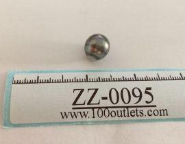 Tahiti Cultured Black Pearl Grade B size 10.54mm Ref. CERDEE